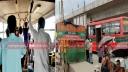 রূপগঞ্জে বিআরটিসি বাসে বর্ধিত ভাড়া নিলেও মানছেনা স্বাস্থ্যবিধি
