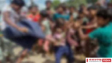 রূপগঞ্জে ৪ অপহরণকারীকে গণপিটুনি দিয়ে পুলিশে সোপর্দ