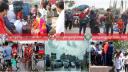বিকল্প পরিবহনে নারায়ণগঞ্জে ফিরছে পোশাক শ্রমিকরা