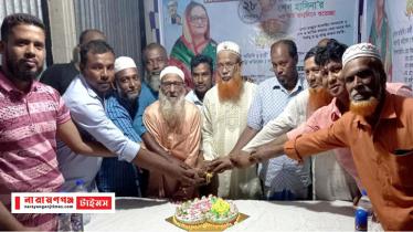 সোনারগাঁয়ে আ'লীগ নেতা বিল্লালের উদ্যোগে ৭৫ তম জন্মদিন পালন