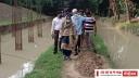 সিদ্ধিরগঞ্জে খেলার মাঠ পরিদর্শনে মেয়র আইভী
