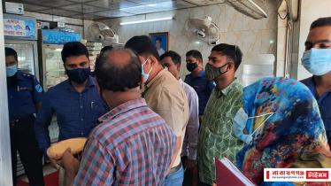 নারায়ণগঞ্জে দুই মিষ্টির দোকানসহ ৩ প্রতিষ্ঠানকে জরিমানা